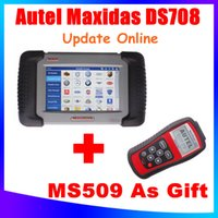 Wholesale AUTEL Distributor FreeShip Newly Original Autel Maxidas DS708 Update Online Auto Diagnostic Scanner Years Warranty