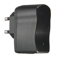 Portable universal 5V 0.5A del recorrido del enchufe de la UE del cargador de pared fuente de alimentación adaptador USB para el teléfono móvil MP3 MP4 MP5 USB purificador de aire