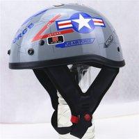 air force bike - America Style Motorcycle Helmet US Air Force design motorbike helmet chopper bike helmet DOT helmet