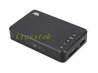 Wholesale Mini Full HD P Media Player with HDMI VGA AV USB SD MMC Optical output Black