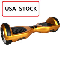 Wholesale USA STOCK Hot Selling Smart motor electric skateboard Two wheels electric scooter Smart Self Balancing hoverboard Electric Unicycle scooter