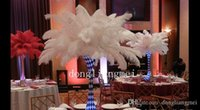 high quality chicken - 100pcs white inch Ostrich Feathers for wedding centerpieces christmas decor Wedding Decorations z134