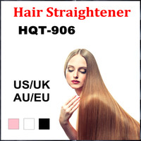 Wholesale 2016 Hot New HOQ Hair Straightener Straightening Irons Comb Electric Hair Styling Tool Digital Temperature Controller Hair care