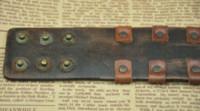 Wholesale Real Brown Leather Rock Cool Metal Style Clasp Genunine Leather Bracelet Men s Woman Skull Bracelets