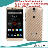 Cheap Elephone P8000 Android 5.1 4G LTE Smartphone 5.5 inch Phablet MTK6753 64bit Octa Core 1.5GHz 3GB+16GB Fingerprint ID