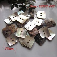 agoya buttons - AGOYA Shell buttons square thicker shell buttons for sewing materials clothing accessories
