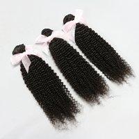 Cheap Direct Factory Price!4 bundles 6A Unprocessed Hair Extensions kinky Curly Brazilian Malaysian Peruvian Indian Virgin Human Hair Weaves DHL