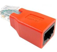 Wholesale RJ45 CAT5 CAT5E Network Ethernet Connector male to female Cable Adapter New