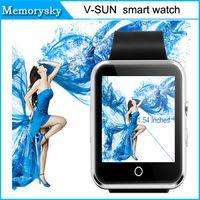 Nouvelle montre Smart Watch bracelet Bracelet vSun Network Android Bluetooth Fonction podomètre Message Push Facebook DHL gratuit 010219