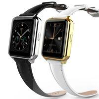 оптовых f2 умные часы-F2 Смарт Bluetooth Watch Phone MTK2502 Динамический пульса Мониторинг 2.5D Arc сенсорный экран IP67 Водонепроницаемый SmartWatch для IOS Android