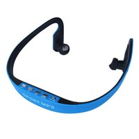 Wholesale Sport MP3 Headset WMA Music Player TF Micro SD Card Slot Wireless Headphone Earphone V532
