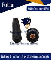 Wholesale 2015 Top seller Brand New Amp Black welding cable connector tig welder plug MM tig welder parts