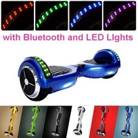 electric motors - Bluetooth Speaker Electric Scooter Mini Unicycle Monocycle with LED Light Self Balancing Skateboard Motor Hoverboard Airwheel Drifting Board