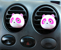 perfume set - Mini car outlet perfume lovely panda car outlet perfume Air Purifier Freshener Humidifier Car Fresh supplies pc set Free Fast Shipping