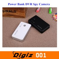 Wholesale Mini Power Bank DVR Spy Camera Hidden Camera for Spy Use with Motion Detection Black And White Colors WEBC0215