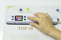 Wholesale New DPI Dual Roller A4 Portable Document Handy Scanner with x320 Color Screen Internal mah Lithium Battery