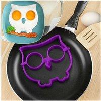 Wholesale Novel Trendy Silicone Skull Owl SUNNYSIDE UP FRIED Silicone Fried Egg Mold Pancake Egg Cooking Tool
