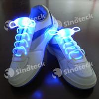 Wholesale LED Shoelaces Shoelace Boys Girls Kids Light Up Flash Party Disco Shoe Laces Shoe Strings Free DHL Factory Direct