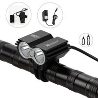 Wholesale SolarStorm Lumen x CREE T6 LED Front Bicycle Light Bike Headlamp Headlight