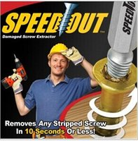 Wholesale Speed Out pc Damaged Screw Extractor Use With Any Drill SpeedOut