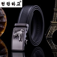 belts for jeans - Fashion mens designer leather belts Business Jeans Automatic Buckle waist strap belts for men brand belts quality