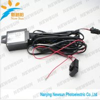 automatic running controller - Car LED DRL Controller V LED Daytime Running Light DRL Relay Harness kit Automatic On Off Reduce light Control