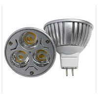 Wholesale LED Bulbs Promotion Retail High Power CREE W x1W Dimmable GU10 MR16 E27 LED Light Lamp Spotlight LED Bulb
