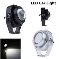 Wholesale Super Bright Led Car Fog Lamp Waterproof LM W CREE DRL Eagle Eye Light Daytime Running Reverse Backup Parking ZM00035