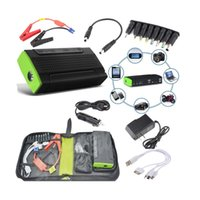 Wholesale Multi Function Car emergency start power Jump Starter Mobile phone Rechargeable Battery mAh Car Jump Starter Power Car Charger DHL