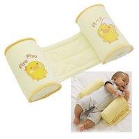 Wholesale Baby Pillow Infant Sleep Head Positioner Newborn To Sleep Children Pillows Anti Roll Toddler Safe Cartoon Anti Rollover Pillow DHL Factory
