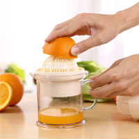 automatic orange juicers - 400ml Hand Juicers Multifunction Orange Lemon Mini Fruit Citrus Juicers Two Way Operation