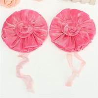 Wholesale Window Curtain Tieback Rose Flower Tie Backs Holdbacks Drape Colorful Holders Voile Net Curtain Panels Pair