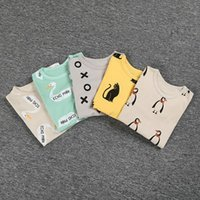 baby nursing clothes - 2016 Boys tights Girls Trousers Pants Casual Nursing Belly Baby leggings kids Two Pieces set winter Trousers Infant Clothing Umbilical BY000