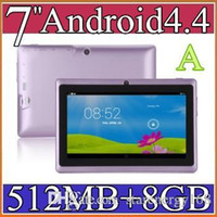 epad - ty50pcs inch Capacitive Allwinner A33 Quad Core Android dual camera Tablet PC GB MB WiFi EPAD Youtube Facebook Google USB PB