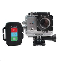 Wholesale 1080P MP WiFi Diving Sports Action Camera DV SJ9000 DVR Helmet Video Camcorder IR Remote Control Motorbike Black Box
