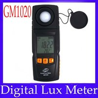 Wholesale Multifunction digital lux meter GM1020 illuminometer Measuring range Lux Lux
