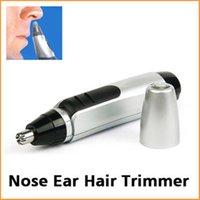 Oído, nariz eléctrica de eliminación de pelo de la cara de recorte máquina de afeitar Clipper Cleaner removedor de envío libre de DHL