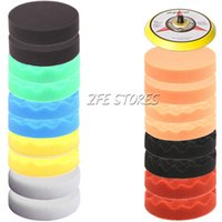Wholesale 19Pcs mm Inch High Gross Buffing Polishing Pad Kit Thread new