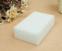 Wholesale 500pcs White Magic Sponge Eraser Melamine Cleaner multi functional Cleaning x60x20mm Retial