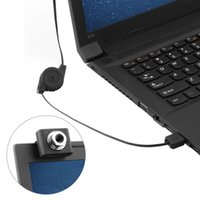 Wholesale Black Mini USB M Retractable Clip WebCam Web Camera Laptop Brand New