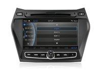 Wholesale CASKA Car DVD Player Inch GPS Navigation Include Ublox GPS Modules Support BT WIFI For Hyundai iX45 CA345 MQ8
