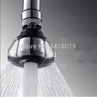 Wholesale Kitchen Faucet Water Bubbler Swivel Head Adapter Water Saving Tap Aerator Connector Diffuser Multifunctional Faucet Filter Mesh