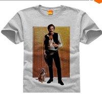 anchorman shirt - star Wars Anchorman Han Burgundy Star Wars anchorman DIY T shirt