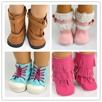doll shoes - style Hot sell popular inch American girl doll clothes and accessories lovely princess shoes boots
