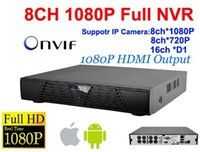 Wholesale 2pcs DHL full HD CH P NVR for IP camera H Onvif Network video recorder cheapest Channel P