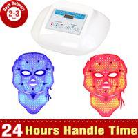 Wholesale 415nm nm nm Wavelength LED Lights Face Neck LED Mask Skin Rejuvenation Wrinkle Removal Machine