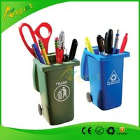 trash cans - Big Mouth Toys The Mini Curbside Trash holder and Recycle Can Se