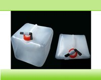 Wholesale collapsible water carrier and portable plastic water tank made in China