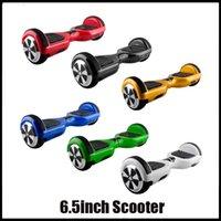 Scooter eléctrico Smart Balance Ruedas 6.5inch con anticolisión Bar Hoverboard 6,5 pulgadas monociclo 600W 36V El mejor regalo de Navidad