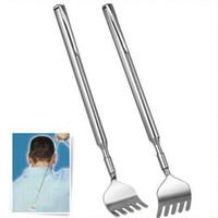 Wholesale HOT Body Massager Pocket Size Portable Telescopic Extendable Extending Back Scratcher Pen Clip